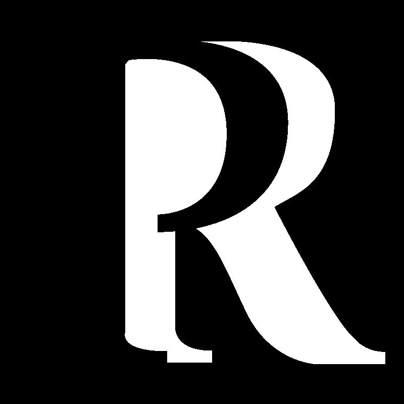 P&R Header Logo - White